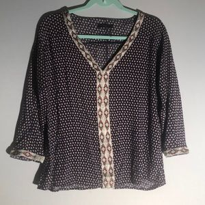 THML Aztec Printed Blouse G25